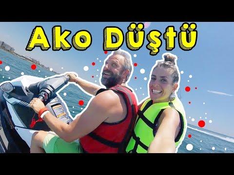 Ako Jetski'den Uçtu!! Aslı Tırstı:)) Fame Residence    Bizim Aile Eğlenceli Çocuk Videoları
