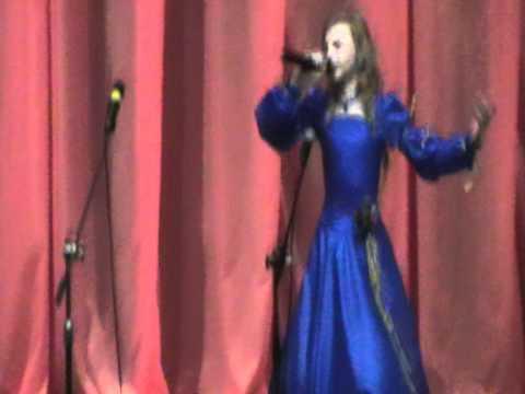 Лиана Жданова,11лет.Песня Гуси летли