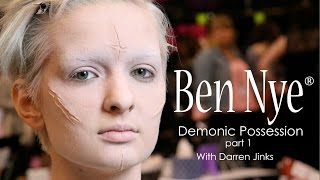 Repeat youtube video How To: Demonic Possession Part 1 with Ben Nye Makeup