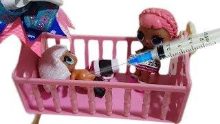 Как сделать чтобы кукла лол плакала и писала/ Операция кукла ЛОЛ/Лечим куклу LOL