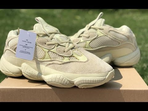 Best Ua Adidas Yeezy Boost 500 Super Moon Yellow Review