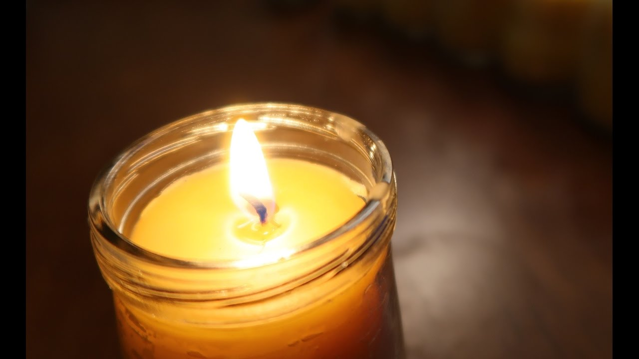 How To Make Beeswax Candles! - YouTube