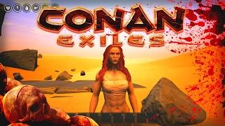 xBianca IS BORN! :: Ep 1 :: CONAN EXILES Gameplay