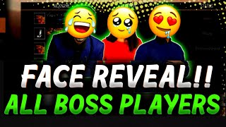 BOSS PLAYERS FACE REVEAL ❤🔥 - BOSS GUILD FREE FIRE#garenafreefire  #bossofficial