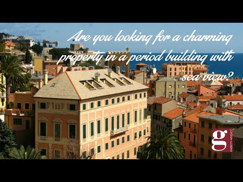 Real Estate in Liguria – Finale Ligure: charming penthouse attic in period building whit sea views