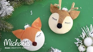 How-To: Woodland Creature Ornaments | Michaels