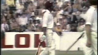 Lawrence Rowe 70 vs England 5th Test 1976