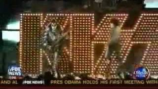 KISS mention on Bill O'Reilly