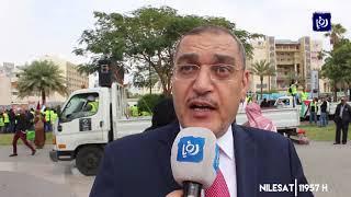مسيرة وطنية مؤيدة لمواقف جلالة الملك تجاه القدس وفلسطين (19/2/2020)