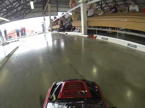 Tandem Drifting R/C Drift Car POV First Person View Clear GOPRO Hero 3 Black HD/HQ