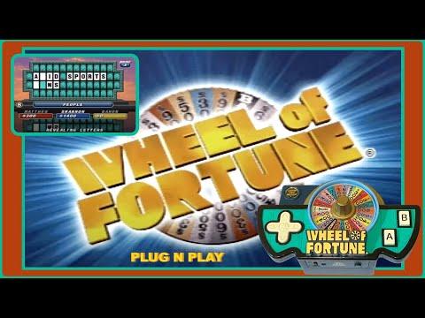 Jakks Pacific Plug N Play: Wheel Of Fortune