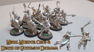 Death Of Gothmog & Metal Mordor Orcs - Unboxing  Made To Order