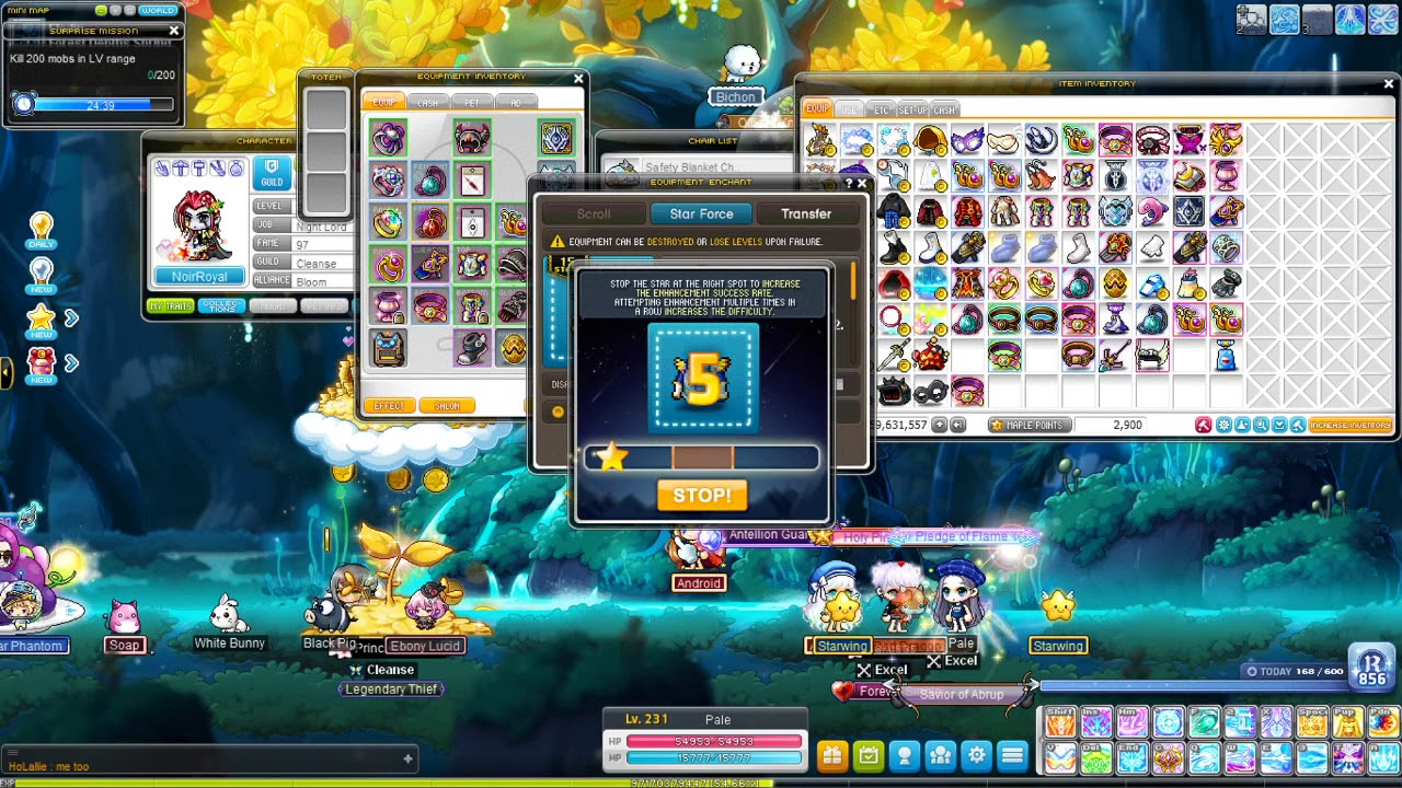[MapleStory] Adele Progression - 30% off SF event! Will I reach 20 Stars on my TOP?