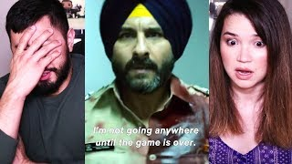 SACRED GAMES | Netflix | Saif Ali Khan | Nawazuddin Siddiqui | Trailer #2 Reaction!