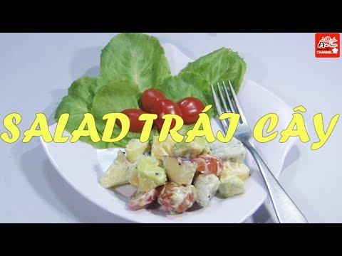 Cách làm Salad trái cây (hoa quả) mát rượi thơm ngon giải nhiệt ngày hè