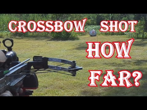 Deer Hunting With A Crossbow - How Far Do You Shoot?