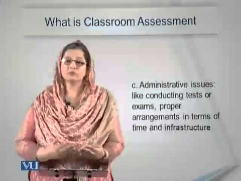 Lecture 6 (EDU405 – Classroom Assessment)