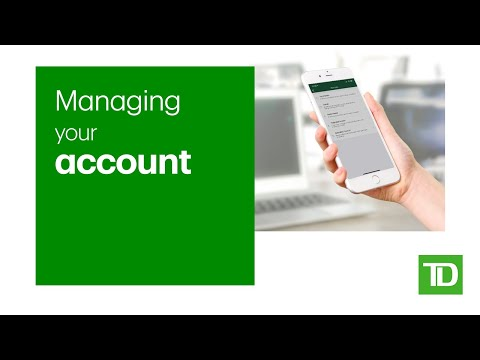 Managing Your Direct Investing Account With The TD App