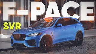 Jaguar F-Pace SVR 2019 // Большой тест-драйв