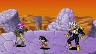 Dragon Ball GT Transformation - Goku vs Baby Vegeta【HD】