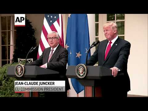 Trump, EU Inch Toward Trade War Ceasefire
