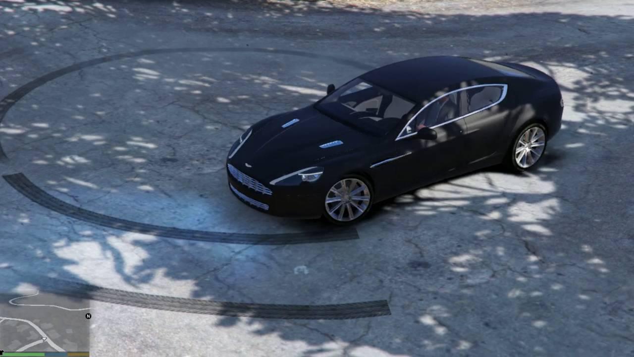 Gta V Aston Martin Rapide 2010 Gta 5 Mod Youtube