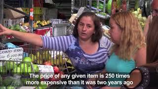 Venezuela's 'millionaires,' the new poor