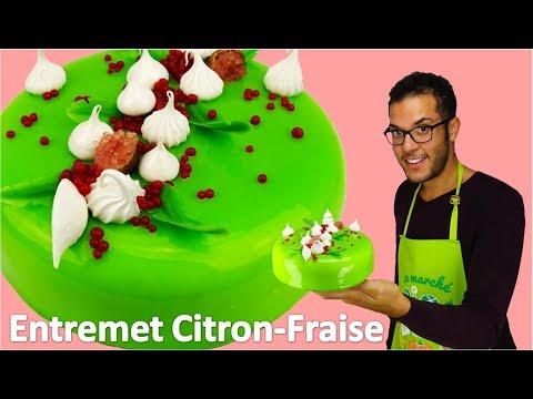 recette-entremet-citron-fraise-/-lemon-strawberry-entremet-(english-subs)