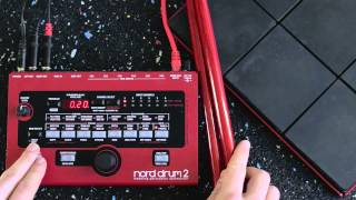 Nord Drum 2 - Creating a basic kit from scratch