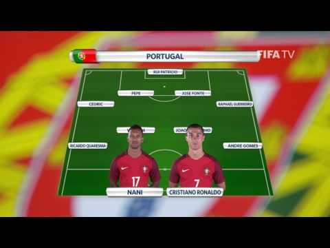 Match 2 - Portugal v Mexico -Team Lineups - FIFA Confederations Cup 2017