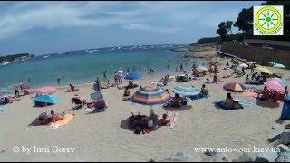 Коста-Брава. Испания. Пляж