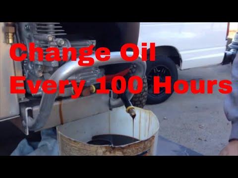 Changing Oil in Honda GX630 Or GX690 Pressure Pro Pressure Washer