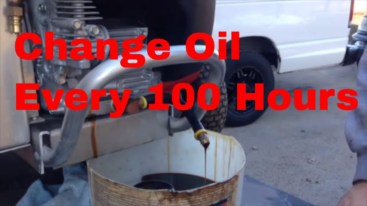 Changing Oil in Honda GX630 Or GX690 Pressure Pro Pressure