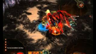 Diablo 3 Barbarian vs. Izual Normalna Obtiznost