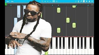Lil Wayne – Cant Be Broken PIANO Tutorial EASY (Piano Cover)