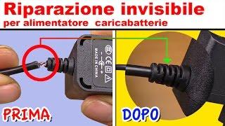 TECNICA INVISIBILE per riparare alimentatore caricabatterie iphone samsung - tartaglia channel