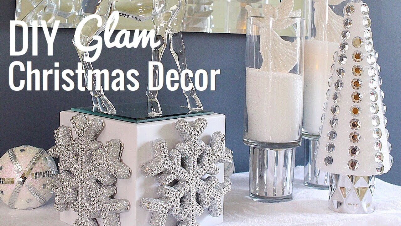diy home decor christmas diy christmas glam easy dollar tree decor 10731