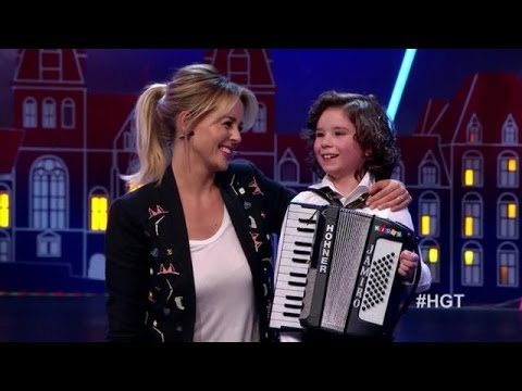 Schattige Jamiro pakt de jury in - HOLLAND'S GOT TALENT