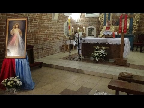 Msza Św. z kościoła pw. Trójcy Świętej w Nieżychowicach z 23.04.2017