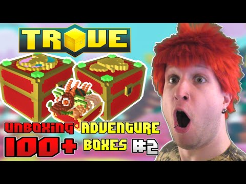 Scythe Unboxes 100+ Adventure Chests in Trove [PRIZE GIVEAWAY] ● #2
