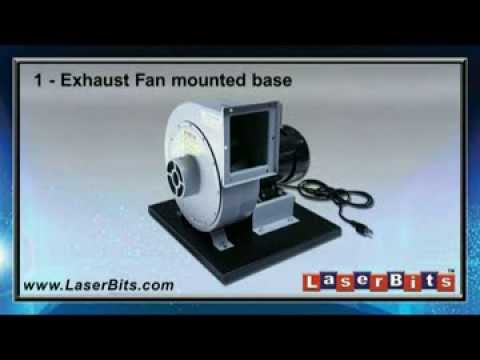 Assembling The LaserBits Exhaust Fan