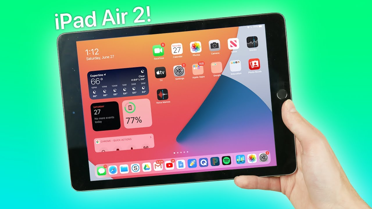 iPadOS 14 Beta + iPad Air 2 | Even Usable?? - (Almost) 6 Years Later!