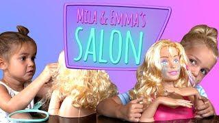DOLL MAKEOVER!   MILA & EMMA