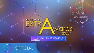 [2020 MUSIC RANK EXTRA AWARDS] ASIAN CATEGORY WINNERS