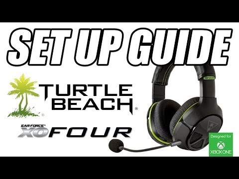 Set Up Turtle Beach XO FOUR Headset for XBOX One (How To Guide)