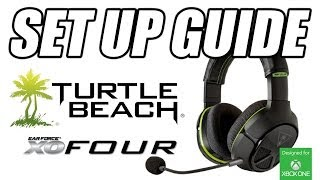 set up turtle beach xo four headset for xbox one how to guide