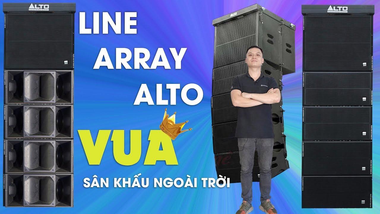 Dàn loa Array SIÊU KHỦNG - Loa Đám Cưới, Sân khấu 1000 khách - Âm Thanh Cực  Mạnh - YouTube