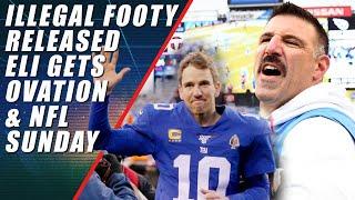 Patriots Illegal Video, Eli's Ovation & Vrabel Calls Reporter Idiot