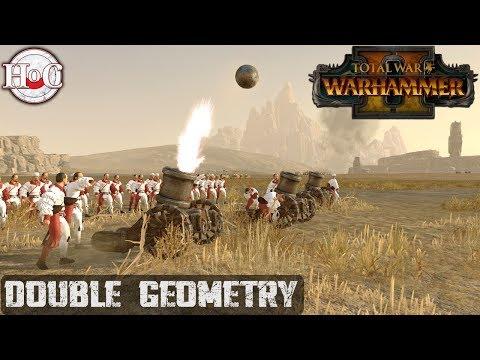 Double Geometry - Total War Warhammer 2 - Online Battle 240 |