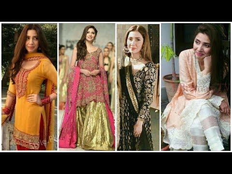 Gorgeous Pakistani Actress Mahira Khan Dresses Pics